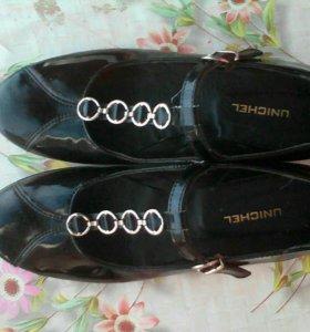Туфли подростковые Unichel