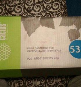 Картридж новый в упаковке
