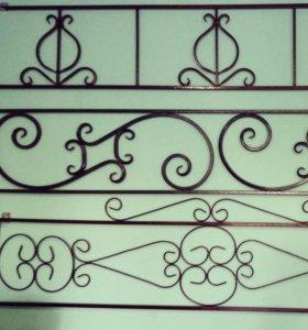 Ограды с порошковой покраской