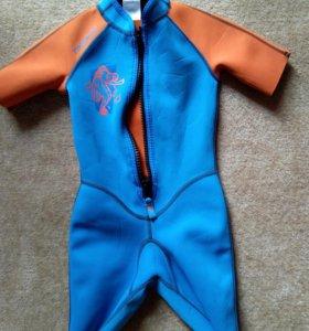 Детский гидрокостюм для плавания (неопрен) 6-11