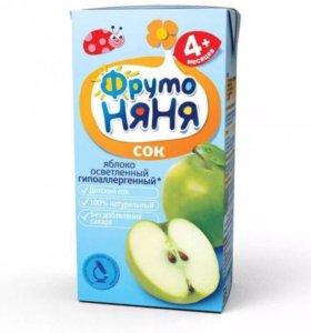ФрутоНяня сок