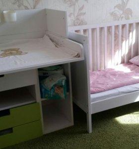 Пеленальный стол-тумба IKEA