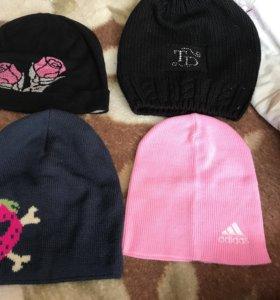 Продам 4 новые шапки