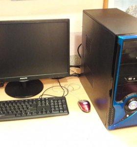 "Компьютер Intel Core i7 (Xeon 3430) + 22"" LED"