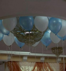 оформление вашей свадьбы гелиевыми шарами