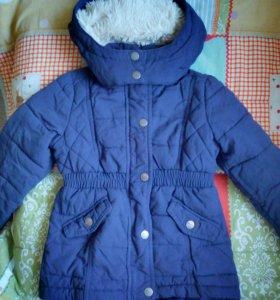 Пальто на девочку (Н&М)