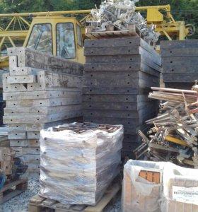 опалубка и строительные леса в аренду