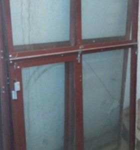 оконная алюминиевая рама разборная для балкона