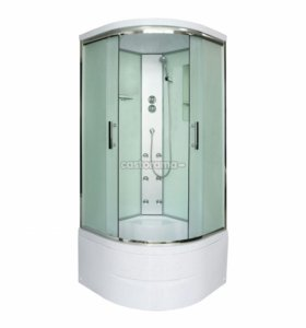 душ с высоким поддоном