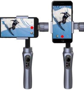 Стабилизатор смартфона и экшн камеры smooth Q3