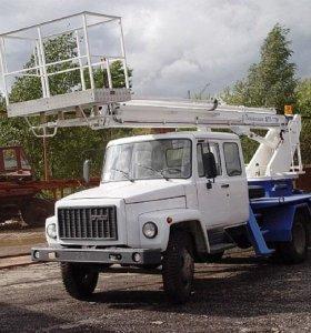 Аренда автовышки ГАЗ 17 м.