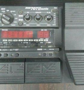 Гитарный процессор ZOOM 707 II
