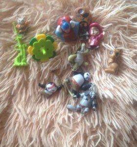 Игрушки из киндара