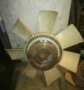 Привод вентилятора на Маз зубренок