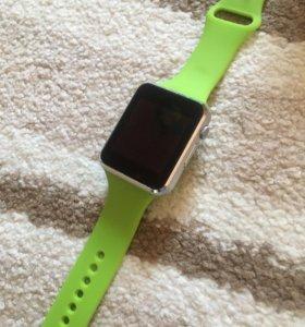 Наручные часы smart watch (зеленые)