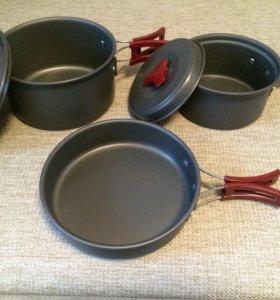 🌿Походный набор/туристическая посуда 🌿