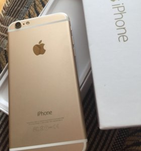 Продам iPhone 6 gold без Touch ID