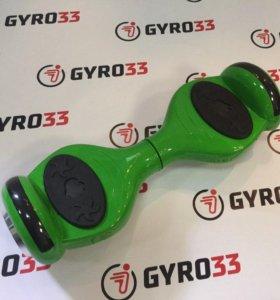 Гироскутер детский зеленый
