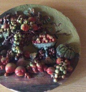 Панно из керамики
