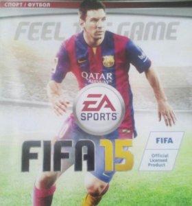 Игра FIFA 15.