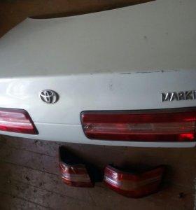 Багажник вместе оптикой на Марк 2-100