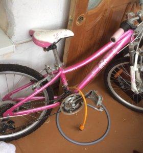 Велосипед. Для девочек.