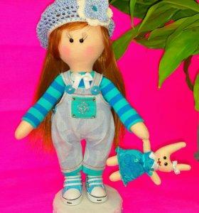 Кукла текстильная.