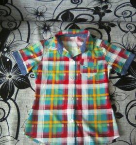 Рубашка на девочку.