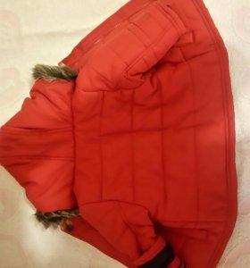 Куртка осень 3-6мес.
