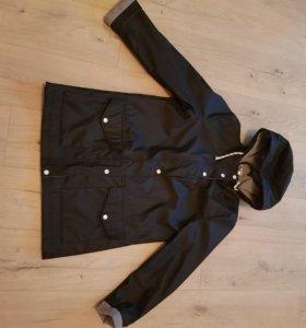 Осенне-весенняя куртка-плащ