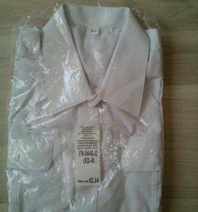 Рубашка белая, для военнослужащих