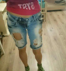 Шорты джинсовые М.