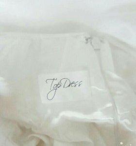 Платье в пол в греческом стиле,со шлейфом,Новое!