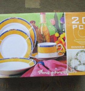Новый столовый сервиз 20 предметов