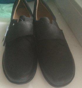 Женские ботинки кожа 40р