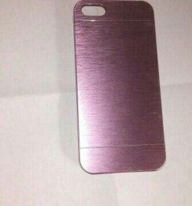 Алюминиевый чехол на iphone5/ 5s