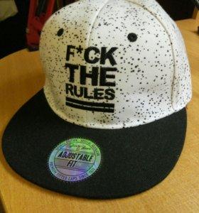 Кепка (Снепбек) F*CK THE RULES