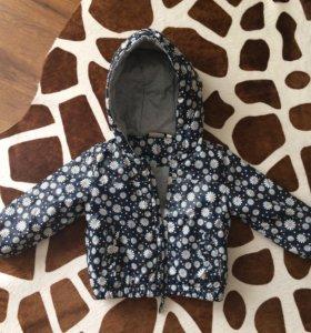 Курточка на девочку,размер 80