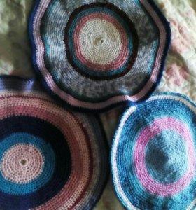 Вязаные коврики