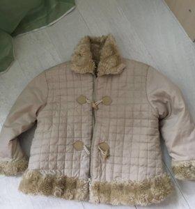 Куртка демисезонная на 8-9 лет