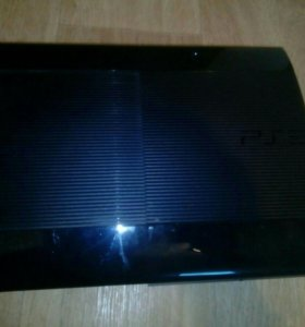 Sony playstation 3 super slim (500гб)+11 игр