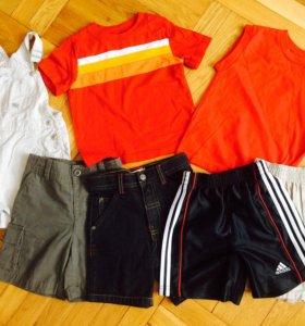 Шортики и футболки на 1.5-2 года
