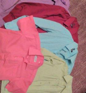 Рубашки на мальчика 134 школьные