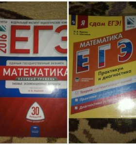 Книги для подготовки к ЕГЭ. Школьные учебники.