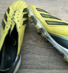 Adidas Adizero f50 бутсы в отличном состоянии 43 р