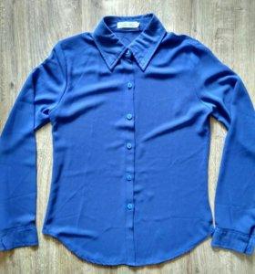 Шифоновая рубашка р. 40-42