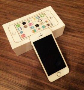 Iphone SE_ 16 Gb  GolD/как новый.