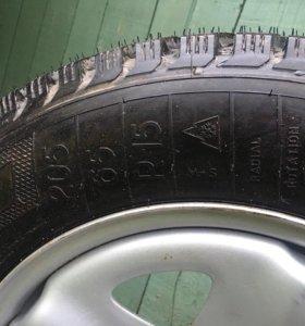 Зимние колёса Волга
