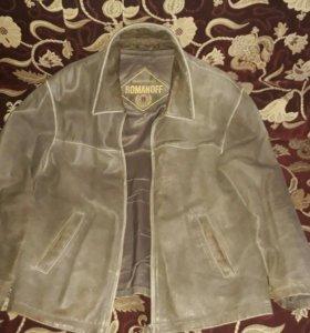 Куртка кожаная Romanoff