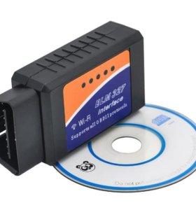 ELM 327 OBD2 Wi-FI V1.5 Автосканер для диагностики